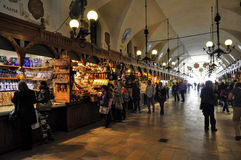 Cracovia - Sukiennice fotografie stock libere da diritti