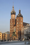 Cracovie - église de rue Mary - Pologne Images stock