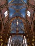 Cracovie - église de rue Mary - Pologne Photographie stock libre de droits