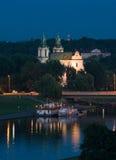 Cracovie - église sur la roche Photos libres de droits
