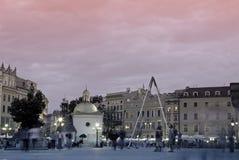 Cracovie carrée Images libres de droits