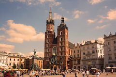 Cracovie (Cracovie, Pologne) Photo stock