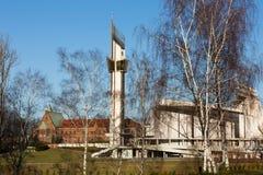 Cracovie, Lagiewniki image stock