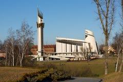 Cracovie, Lagiewniki photographie stock libre de droits