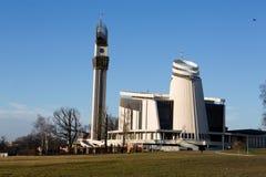 Cracovie, Lagiewniki - le sanctuaire divin de pitié, images stock