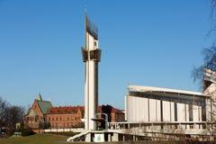 Cracovie, Lagiewniki - le sanctuaire divin de pitié, image libre de droits
