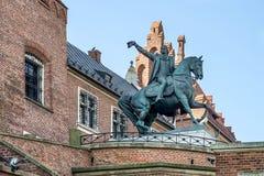CRACOVIE, POLAND/EUROPE - 19 SEPTEMBRE : Tadeusz Kosciuszko Monume images libres de droits