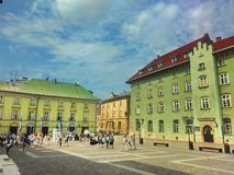 Cracovie Pologne photographie stock