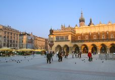 Cracovie, Pologne Image libre de droits