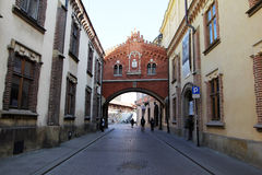 Cracow arch Royalty Free Stock Images
