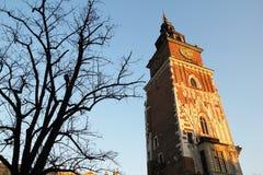 Cracow belfry Stock Photos