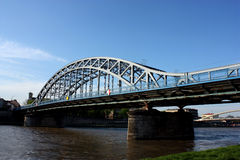 Cracow bridge Royalty Free Stock Image