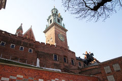 The cracow castle Royalty Free Stock Images