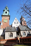 Cracow cathedral Royalty Free Stock Images