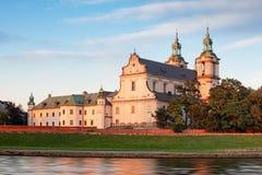 Cracow, Church on the Rock, Kosciol na Skalce, Krakow Stock Photography