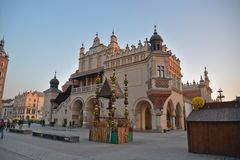 Cracow city street view Royalty Free Stock Photography