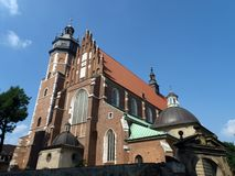 Cracow - Corpus Christi Church Stock Photo