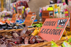 Cracow cow candies Stock Images