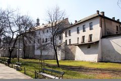 Cracow fortifications Royalty Free Stock Image