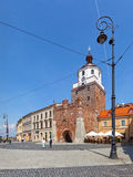 Cracow Gate in Lublin, Poland. Royalty Free Stock Photo