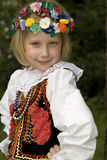 Cracow girl Royalty Free Stock Photography