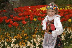 Cracow girl Royalty Free Stock Image