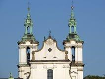 Cracow - igreja do St. Stanislaus Imagens de Stock