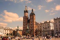 cracow krakow Польша Стоковое Фото