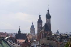 Cracow Krakow, Polônia imagem de stock royalty free