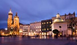 cracow krakow poland Arkivbilder