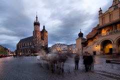 Cracow (Krakow) in Poland Royalty Free Stock Photos
