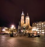Cracow (Krakow) in Poland Stock Images