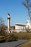 Cracow , Lagiewniki - The Divine Mercy Sanctuary, Stock Photo