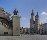 Cracow Main Market Square Stock Images