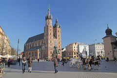 Cracow monument Royalty Free Stock Photo