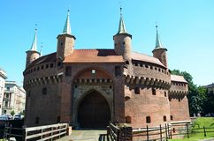 Cracow no Polônia Imagem de Stock
