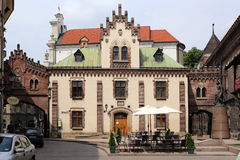 Cracow. The old style building Royalty Free Stock Image