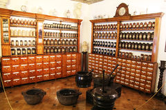 Cracow pharmacy museum Stock Images