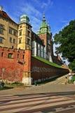 Cracow, Polônia, castelo de Wavel Imagem de Stock Royalty Free