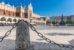 Cracow, Poland- Cloth Hall (Sukiennice)-old town Stock Images