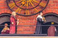Cracow, Poland-Jagiellonian University-historical figures Royalty Free Stock Images