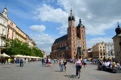 Cracow in Poland, old city Stock Photography