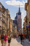 Cracow-Poland-Old Town Stock Photo