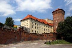 Cracow, Poland. The royal castle Stock Photography
