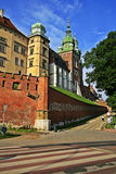 Cracow, Poland, Wavel castle Royalty Free Stock Image