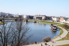 Cracow river Royalty Free Stock Photography