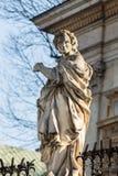 Cracow - ` s do St Peter e de ` s de St Paul igreja foto de stock royalty free