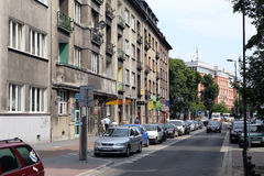 Cracow. The small hotel Royalty Free Stock Photography