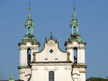 Cracow - St. Stanislaus Church Stock Images
