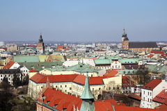 A cracow view Stock Images